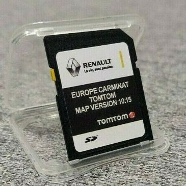 RENAULT CARMINAT V10.15 latest maps 2019/2020 SD card Europe